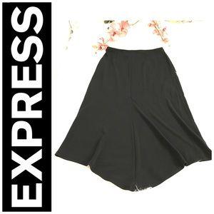 Express woman's black skirt size XS.